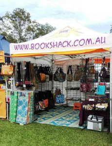 Book Shack Fairtrade/Recycled Stall - Festivals